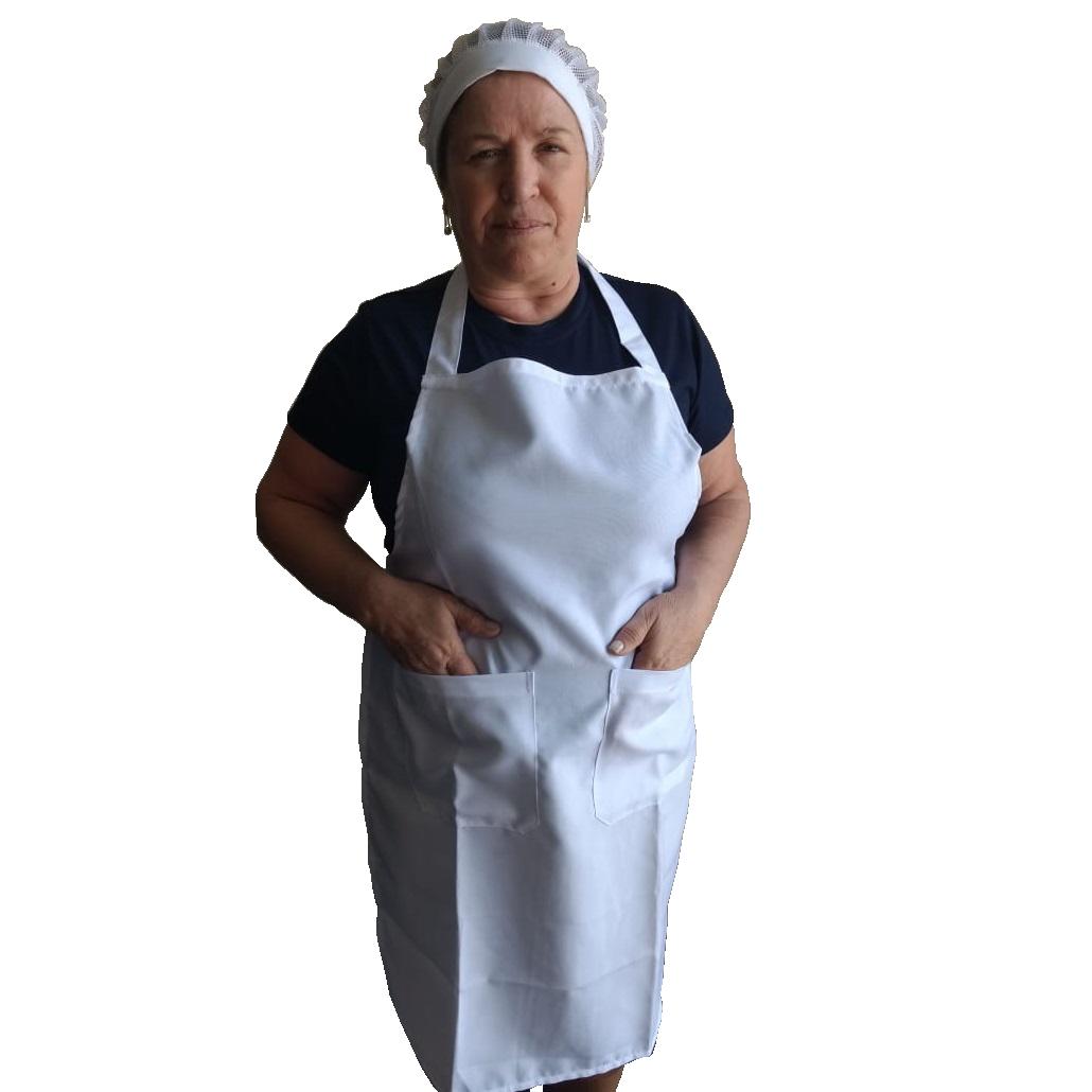 Avental de cozinha batas e dolmas de cozinheiros com bandanas