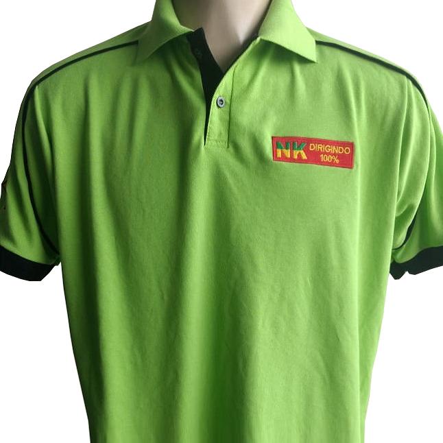 90f4c033bf Confecção de camisa polo em são paulo zona sul loja de fabrica. Camisa polo  verde bordada