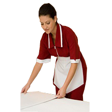 Uniforme para auxiliar de serviços gerais limpeza babás domésticas